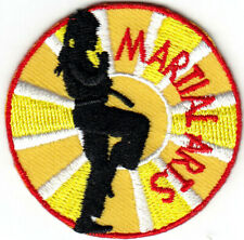 MARTIAL ARTS Iron On Patch Self Defense