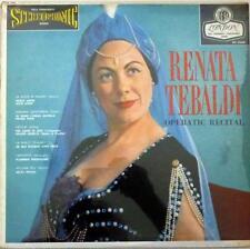 Renata Tebaldi ~ Operatic Recital ~ London OS 25020 ~ Stereo ~SEALED!