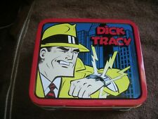 Dick Tracy Mini Metal Lunch Box/New Limited Edition 1988!Collectible!