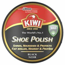 Kiwi Shoe Boot Polish Black Shines Nourishes & Protects