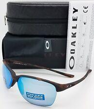 NEW Oakley Unstoppable sunglasses Brown Prizm Deep Polarized H2O 9191-1865 Women