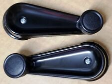FIT 1984-2005 INTERNATIONAL MODELS BLACK DRIVER OR PASSENGER WINDOW CRANK H
