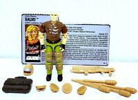 Vintage GI Joe ARAH 1990 Salvo Figure w/Accessories