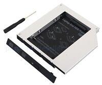 2nd HD Hard Drive HDD SSD Caddy for HP Pavillion zv6000 ZD8000 TS-L532R TS-L532L