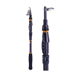 Sougayilang Fishing Rod - 24 Ton Carbon Fiber, Portable Telescopic Super Hard...