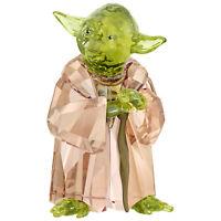 Swarovski Crystal 5393456 Star Wars Master Yoda 6.2 x 3.7 x 3.4 cm RRP $299