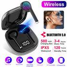 Wireless Earbuds Headphones TWS Bluetooth 5.0 Mini Stereo Headset For Smartphone
