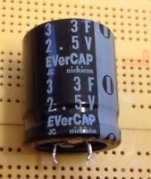 3F 2.7V Supercapacitor PowerStor HV0820-2R7305-R Power Backup Job Lot Multi Qty