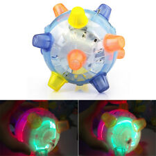 LED Light Jumping Activation Ball Light Music Flashing Bouncing Vibrati Toy YP