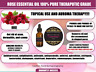Rose Essential Oil Living Young Radiantly Ageless 100% Pure Theraputic Grade