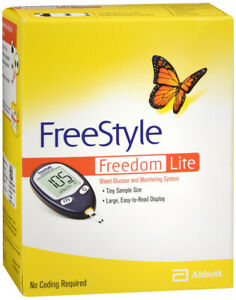 Freestyle Freedom Lite Blood Glucose Monitoring System 1-Kit