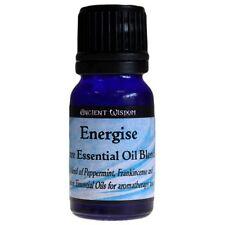 Energising Aromatherapy Essential Oil Blend 10ml peppermint frankincense lemon