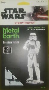 DISNEY STAR WARS STORMTROOPER PREMIUM SERIES 3-D METAL EARTH~BRAND NEW~BID@$1
