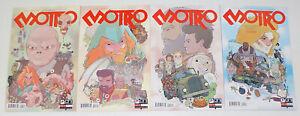 Motro #1-4 VF/NM complete series - ulises farinas - oni press set lot 2 3