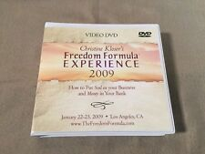 Christine Kloser's Freedom Formula Experience 2009 (18 DVD's) Full Live Video