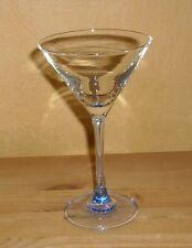Luminarc 1 Cocktailglas Martiniglas, hellblauer Fuß und Stiel