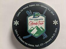 Denver Cutthroats 2014 Colorado Tour CHL puck - defunct team & League -  Rubena