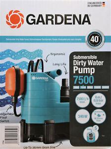 Gardena Schmutzwasser-Tauchpumpe 7500 1795-20