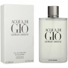 Acqua Di Gio Armani Men eau de TOILETTE 6.7 oz 200 ml New original