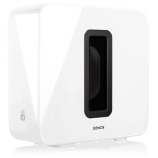 Sonos Sub Gloss White Wireless Subwoofer - Subg1us1gwh