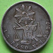 MEXIQUE UN PESO 1871 M° M