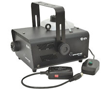QTX qtfx-900 Mkii De Humo Fog Machine 900w Inc Wired & Control Remoto Inalámbrico Dj Disco