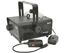 QTX QTFX - 900 MKII Humo Máquina de Niebla 900w Inc con Cable de control remoto inalámbrico DJ Discoteca &