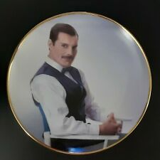 "Danbury Mint Freddie Mercury Collection 8"" Collector Plate - The Golden Boy"