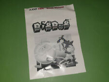 Atari 7800 VCS Instruction Manual - Dig Dug *No Game*