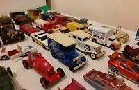 JOB LOT 50 Matchbox Corgi Hotwheels lledo oxford etc. vintage cars vehicles
