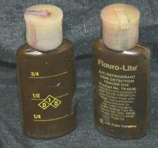 Fluoro-Lite Tracer Dye Bottled Dye A/C & Refrigerant Systems TP3830 (2) Bottles