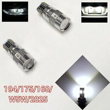 T10 W5W 168 194 175 2825 6 12961 White LED License Plate Canbus B1 For BMW U