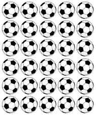 Footballs Cupcake Toppers Edible Wafer Paper BUY 2 GET 3RD FREE