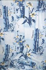Bamboo Birds Fabric  Jams World  Cotton Linen Hawaiian  By the yard BFab