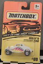 Matchbox 69 Willy's Street Rods 1995