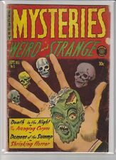 UNCANNY MYSTERIES WEIRD AND STRANGE # 3
