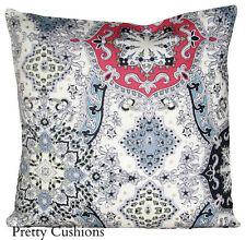 Geometric 100% Linen Decorative Cushions