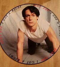 Iggy Pop tengo una imagen disco clásico americano derecho Lp Punk Rock