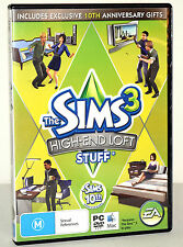 The Sims 3: High End Loft Stuff PC Mac Game Excellent Condition