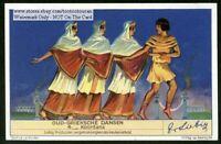 Ancient Greece  Chorus Dance Choeur Danse 75+ Y/O Trade Ad Card