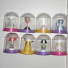 Pokemon Figuren Trainer Misty & Pikachu & Freunde - Nintendo 2000 / Sammlung