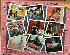"""Vintage New 18"""" x 15 1/2"""" Golden Nostalgic Barbie 550 Piece Puzzle 4729H-51"""