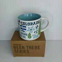 Colorado Starbucks Mug 14 oz Been There Series Coffee cup BTS Damaged Box NWB