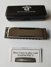 Jack Daniel's Collectable Stainless Steel Harmonica Old No.7 Brand