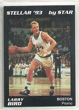 Larry Bird 1992-93 1993 Star Company Boston Celtics Stellar Promo Card  100 Made