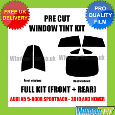 AUDI A5 5-DOOR SPORTBACK 2010+ FULL PRE CUT WINDOW TINT KIT