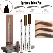 Permanent Tattoo Pen For Eyebrow Waterproof Eye Makeup Easy Use Deep Pencil