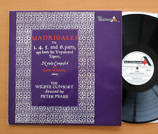 SDD 275 Madrigals John Wilbye Consort Peter Pears 1967 NM/EX Decca Stereo