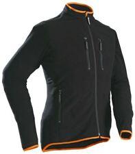 Cappotti e giacche da uomo nere in pile