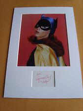 Yvonne Craig Batman Genuine signed authentic autograph UACC / AFTAL